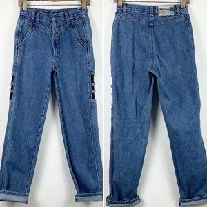 Vintage Rockies 27/5 Jeans High Waisted Tapered